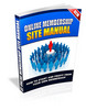 Thumbnail Online membership site manual