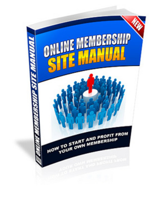 Product picture Online membership site manual