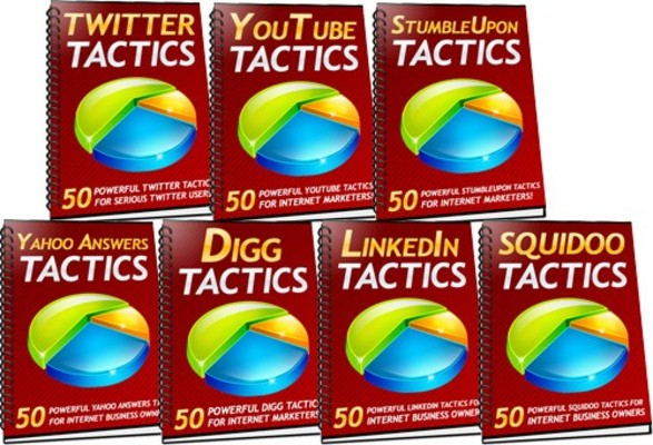 Product picture 350 Powerful Social Media Tactics You Can Use For More Leads